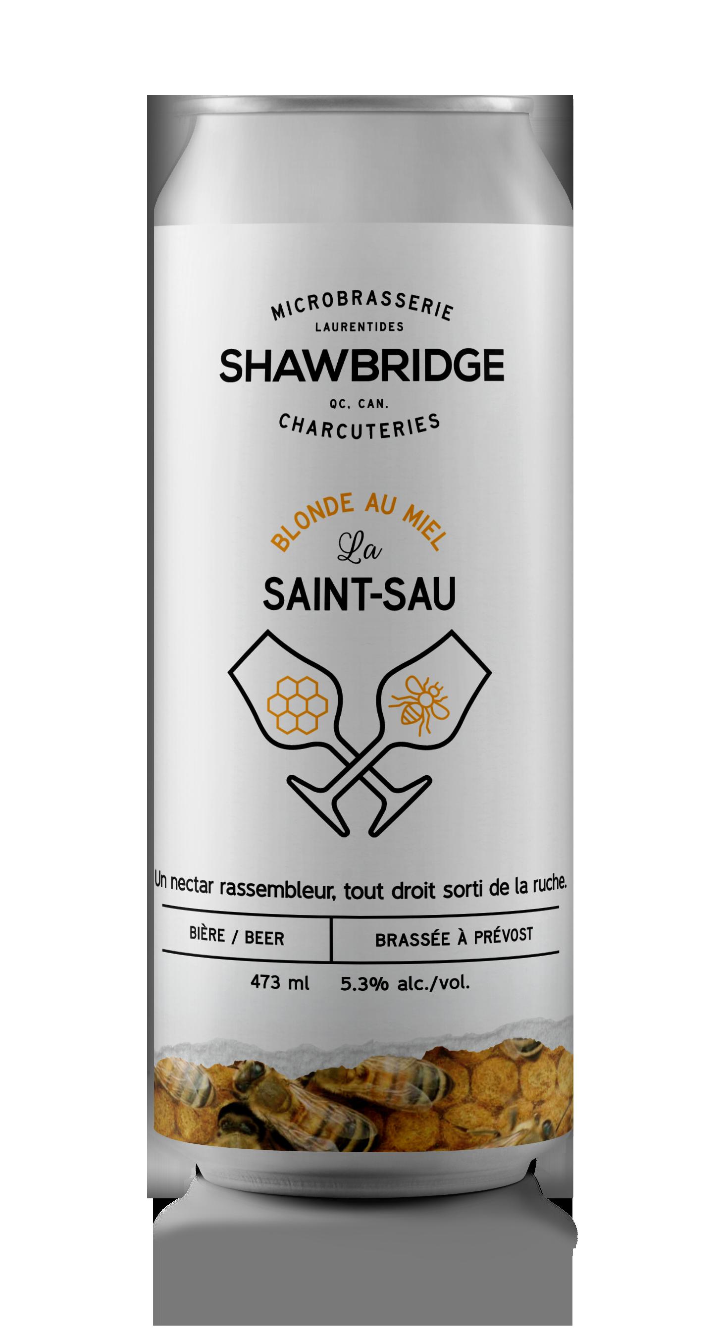 Bière La Saint-Sau Shawbridge