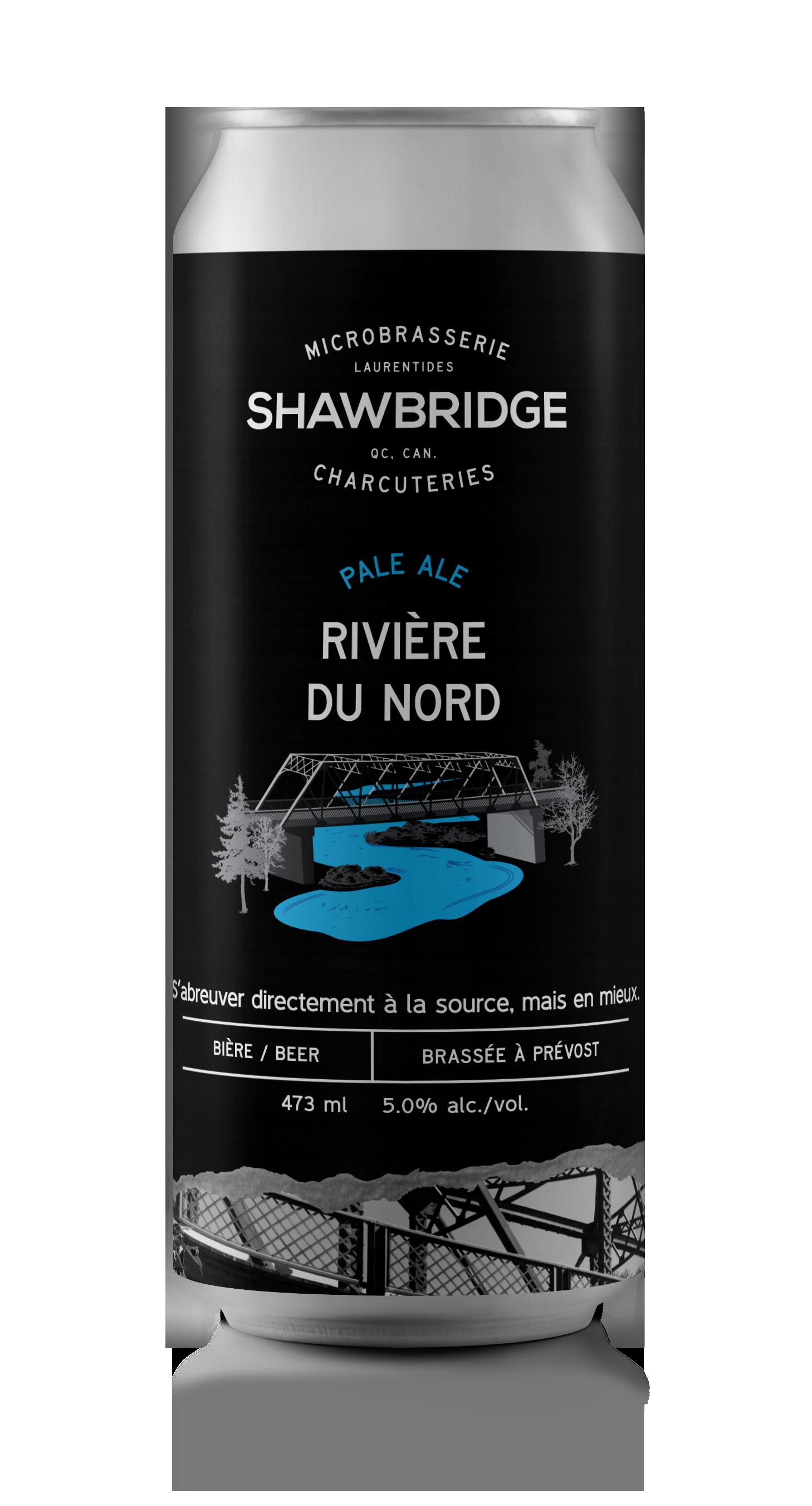 Bière Rivière du Nord Shawbridge